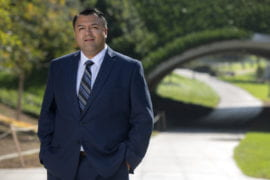 Dani Molina joins UCI as director of the Veteran Services Center