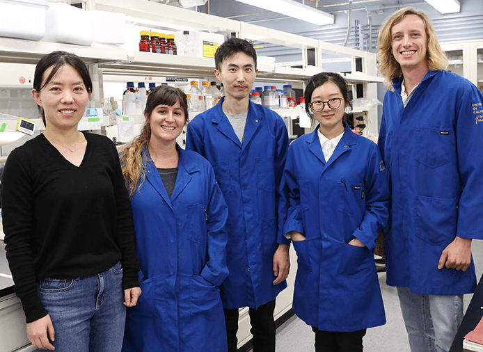 UCI engineering team creates biocatalyst for microbial production of useful commodities