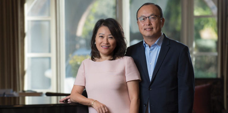 Alumni couple Carol and Eugene Choi to receive UCI's Extraordinarius award