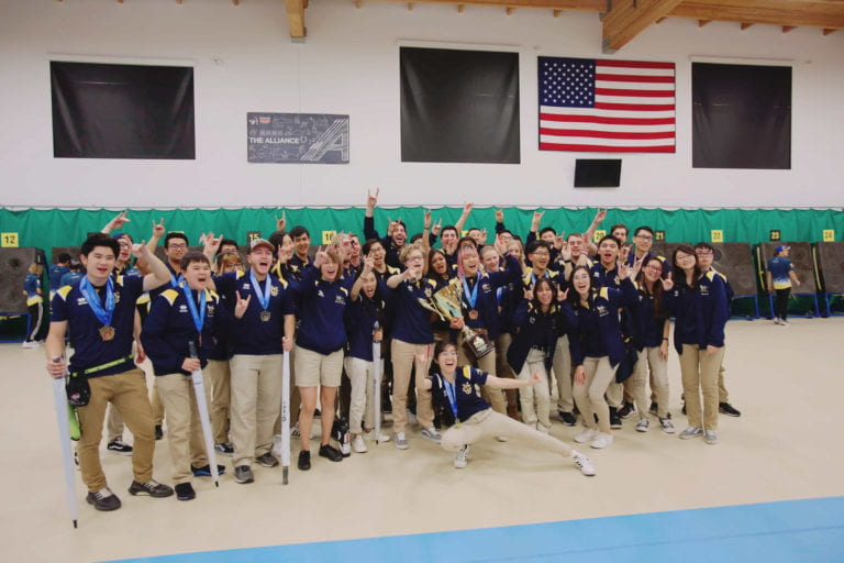 UCI archery team takes first in championship