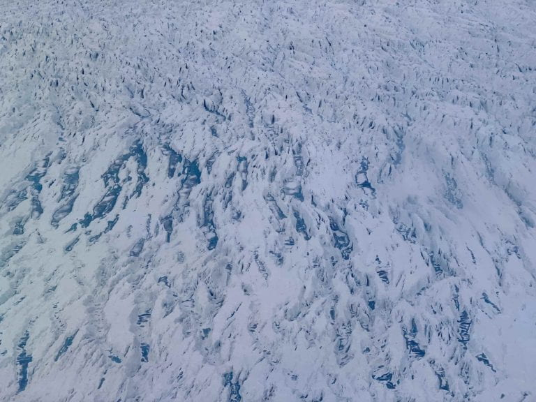 Geleira Jakobshavn, no centro-oeste da Groenlândia