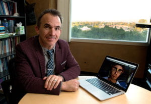 UCI professor of anthropology Tom Boellstorff conducts studies how people with disabilities make use of new online technologies.