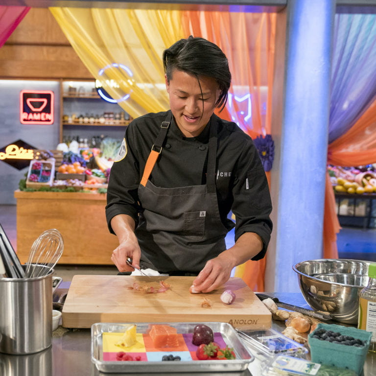 UCI Podcast: Top Chef winner and UCI alumna Melissa King dishes out college cooking tips