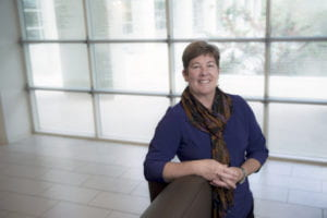 Epidemiology professor Karen Edwards, department of Public Health