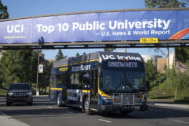 UCI chosen to have 10th greenest fleet in U.S.