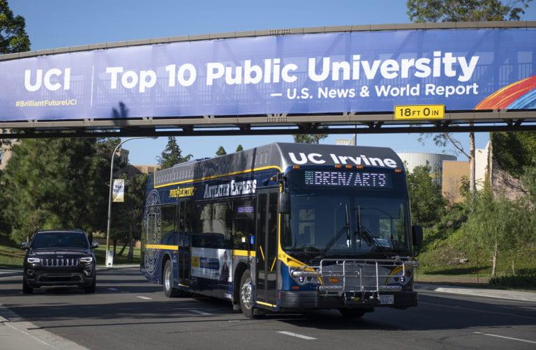 UCI chosen to have 10th greenest fleet in U.S.