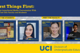 UCI  launches initiative pairing first-gen faculty with first-gen students