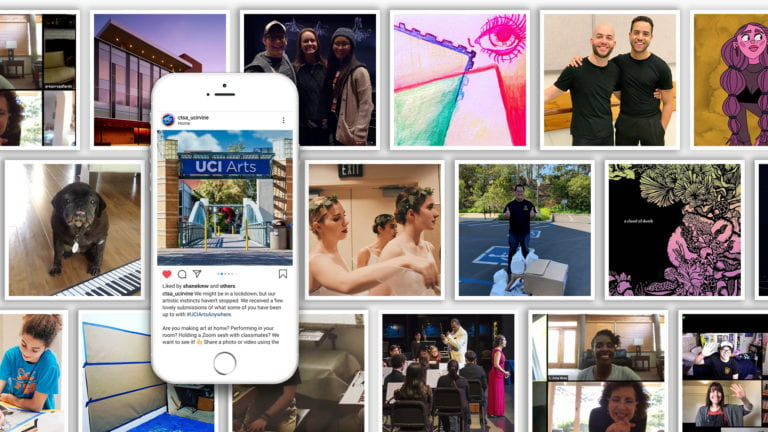 The Claire Trevor School of the Arts' #UCIArtsAnywhere project