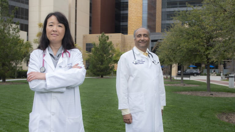 Dr Alpesh Amin and Dr. Lanny Hsieh