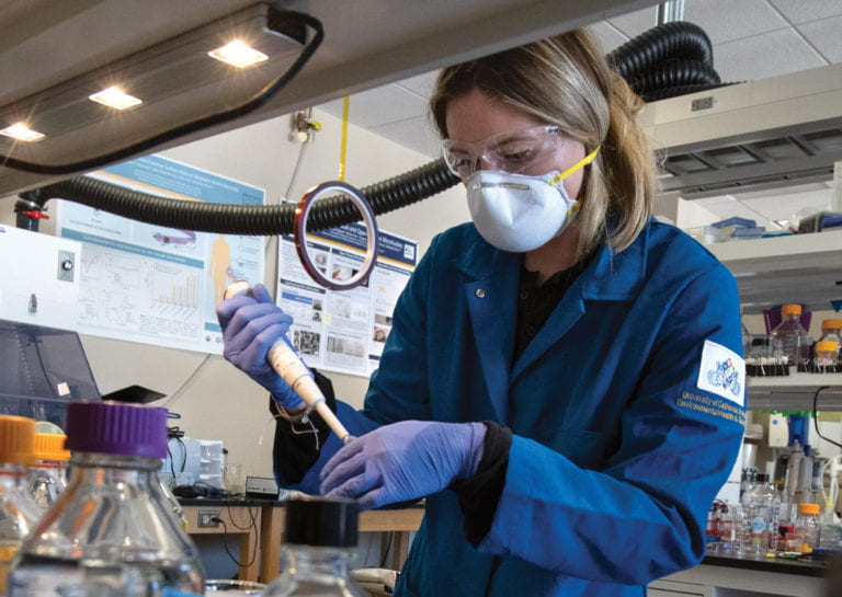 UCI researchers develop at-home coronavirus saliva test