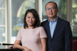 Alumni couple create scholarship endowment at UCI's Center for Critical Korean Studies