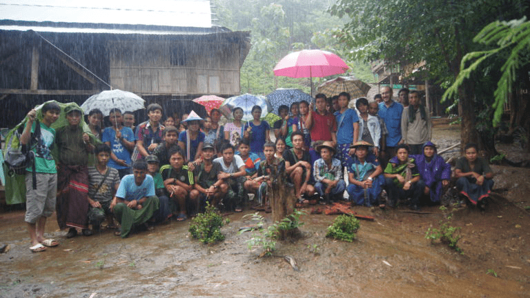 villagers to map out Northern Kayin State in Myanmar
