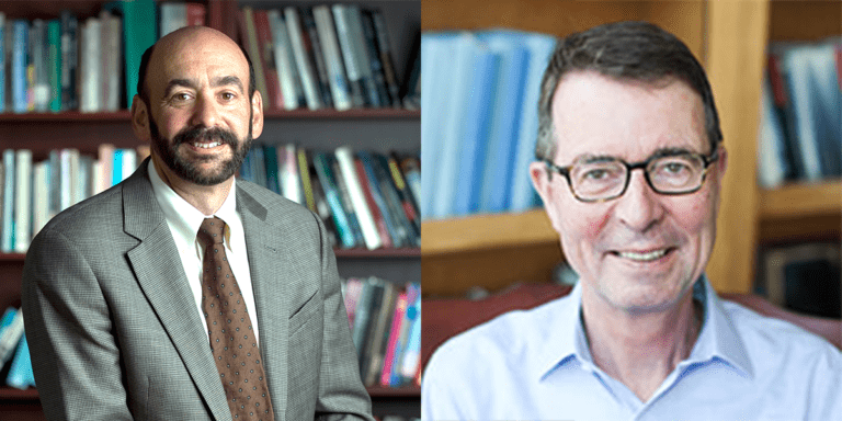 School of Education dean and distinguished professor recognized as influential scholars
