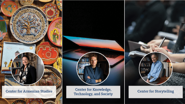School of Humanities launches 3 new centers for interdisciplinary research, programming