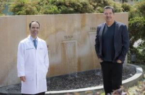 Brian Fargo and Dr. Hamid Djalilian