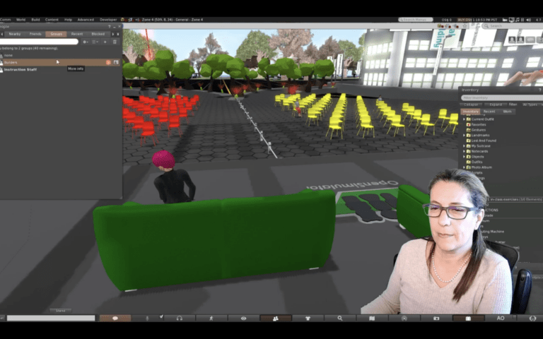 Beyond Zoom: Virtual reality classrooms