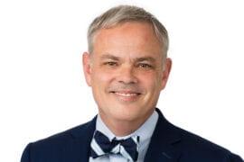 Advanced practice nurse and philosopher Mark Lazenby named dean of UCI nursing school