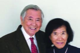 Prof. Robert A. Mah and Dr. Adeline Yen Mah