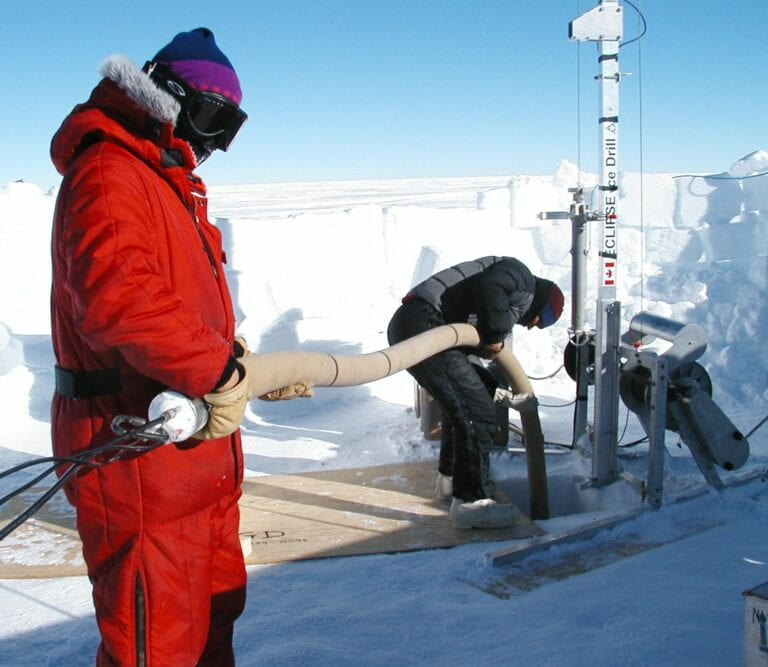 UCI researchers analyzed Antarctic air samples to learn of a 70-percent increase in atmospheric hydrogen over the past 150 years