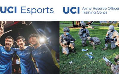 UCI Esports and Army ROTC Program Participate in Cross-Training Event