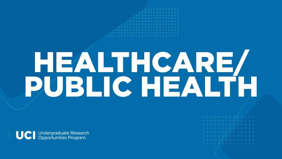 Healthcare/Public Health