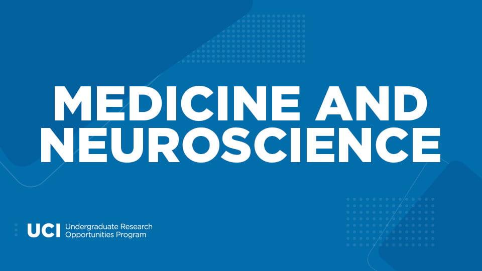 Medicine and Neuroscience