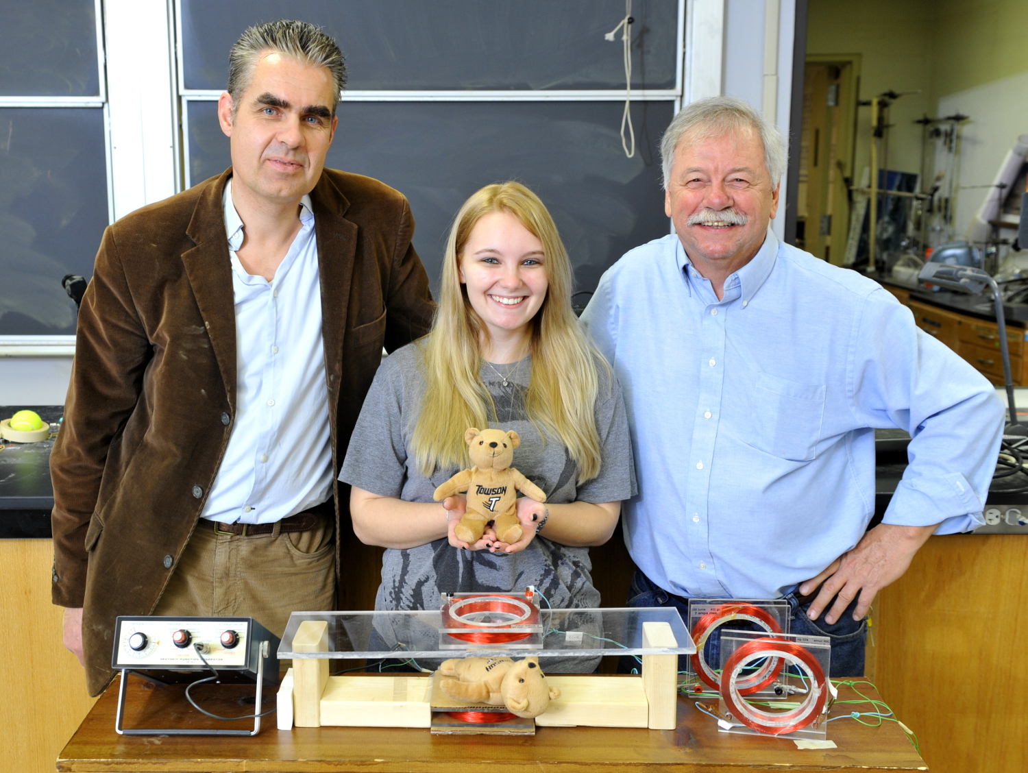 Detecting the bullet in the bear with a reconstruction of Alexander Graham Bell's induction balance (with Jim Selway, 2013)