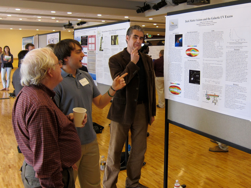 Expounding upon the mysteries of the galactic UV excess at the Towson University Student Research Expo (2013)