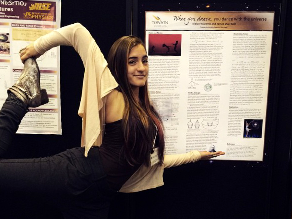 Demonstrating the origin of inertia at the APS Conference on Undergraduate Women in Physics (Rutgers, 2015)