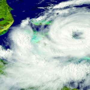 satellite images of a hurricane