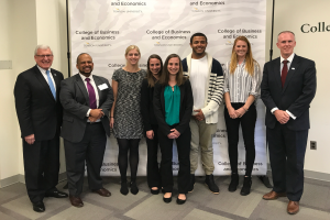 winners of the fall 2017 live strategy case competition