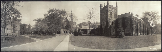Princeton, 1909 -- picture from The Library of Congress.
