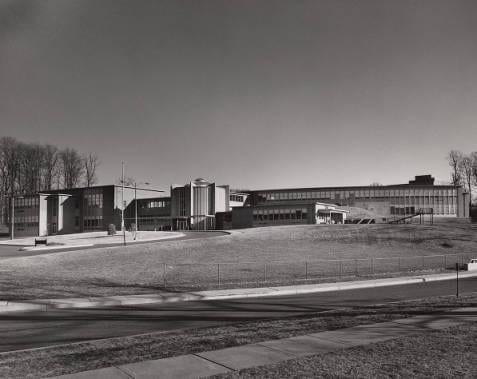 The new Lida Lee Tall School building