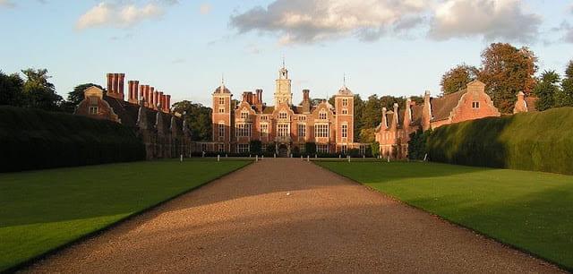 Blicking Hall photo, courtesy of Wikimedia Commons.