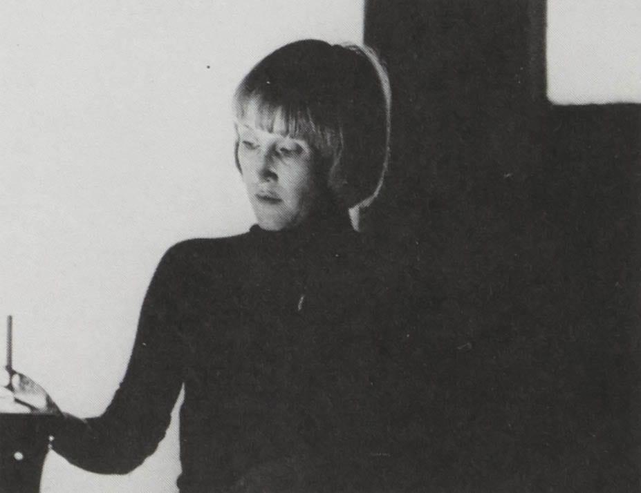 1976 yearbook photo of Barbara Laufer