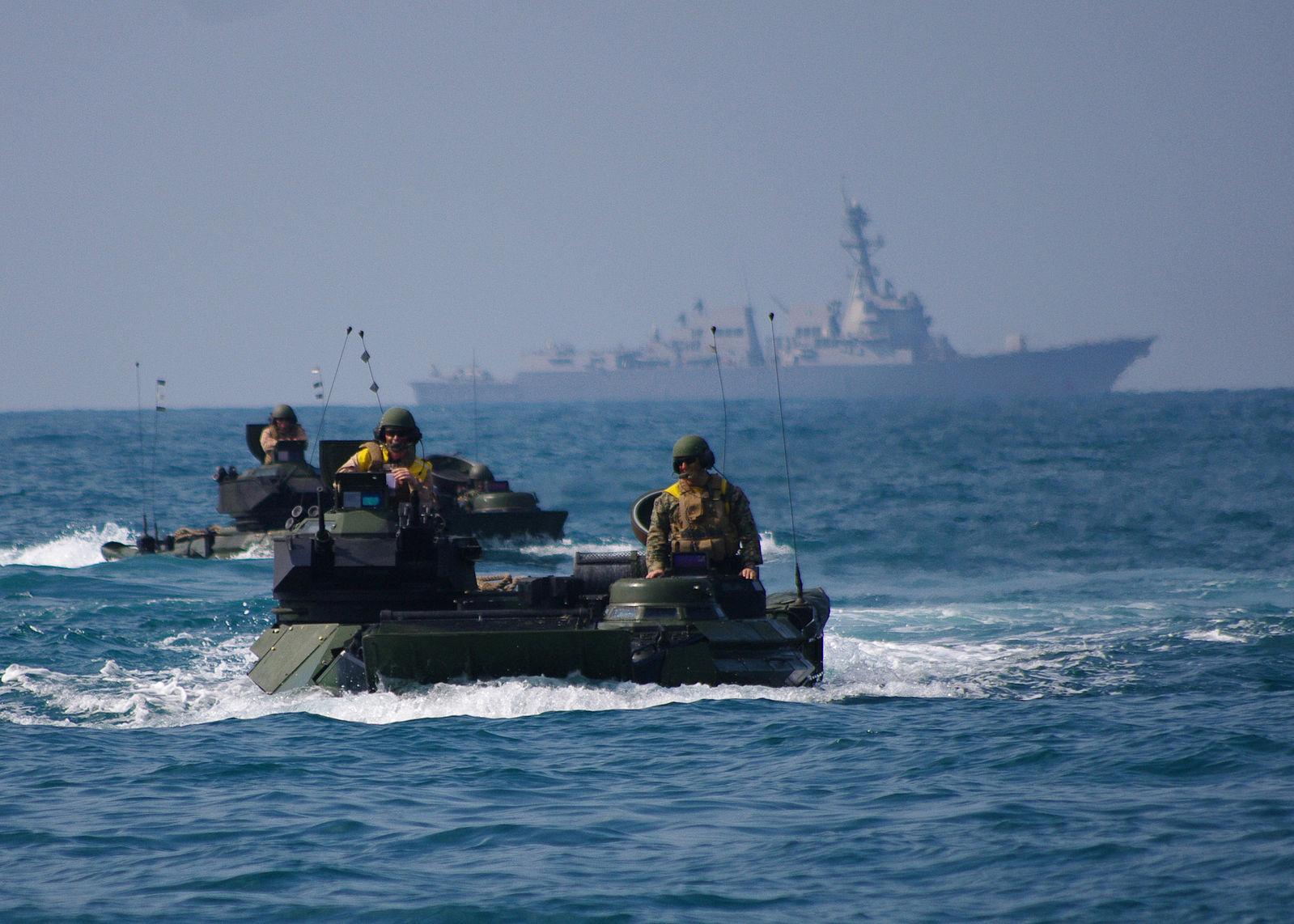 China's push into the South China Sea