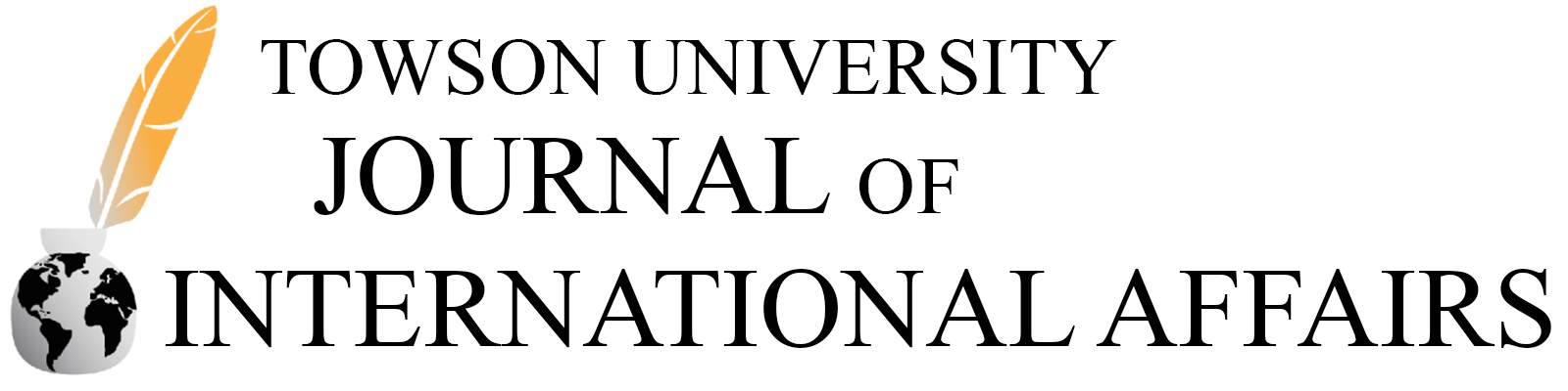 Towson University Journal of International Affairs