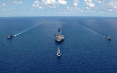 The Showdown Between the US and China in the South China Sea