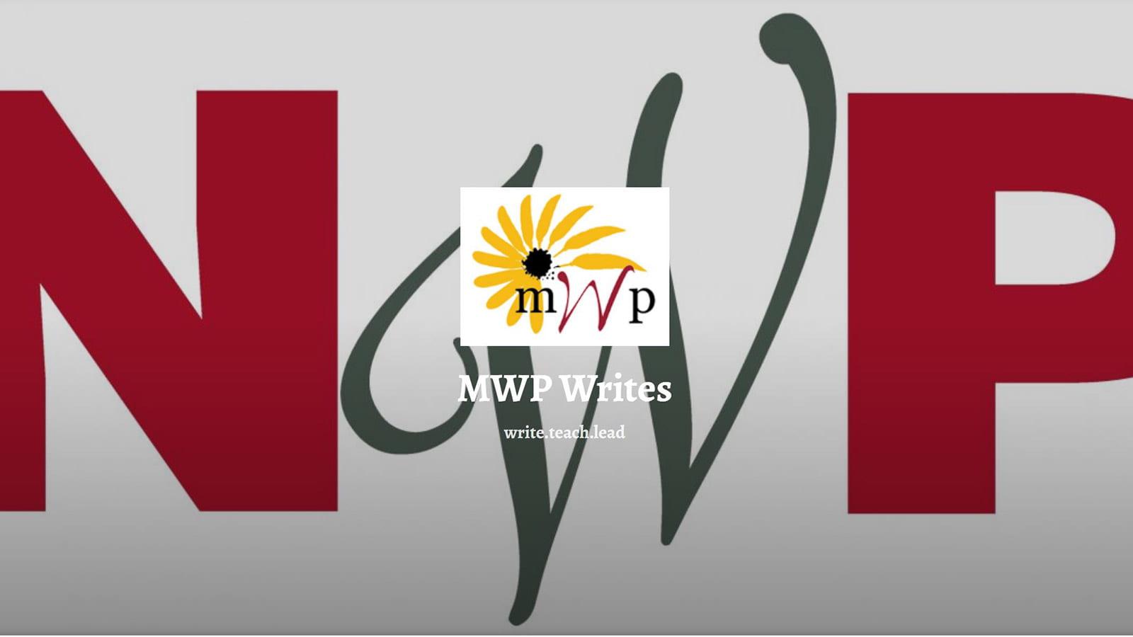 logo for Maryland Writing Project Writes blog