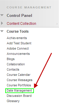 Blackboard Feature Spotlight: Date Management