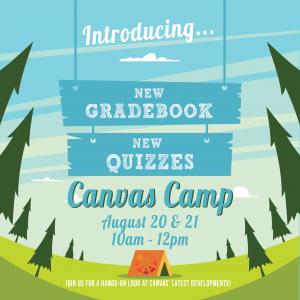 Canvas Camp Flyer