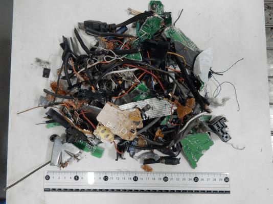 Fig. 1. Waste Printed Circuit Boards (WPCBs)