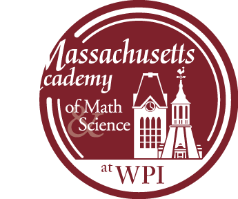 Massachusetts Academy of Math & Science at WPI Header Logo