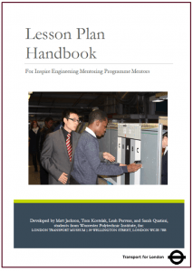 Lesson Plan Handbook Cover Page