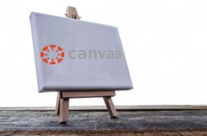 canvas stock image