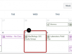 Pro Tip Tuesday: Repeating Events in Canvas Calendar