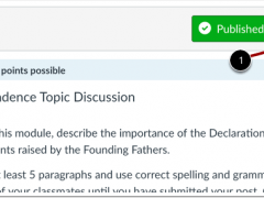 Pro Tip Tuesday: Add a Rubric to Canvas Discussions