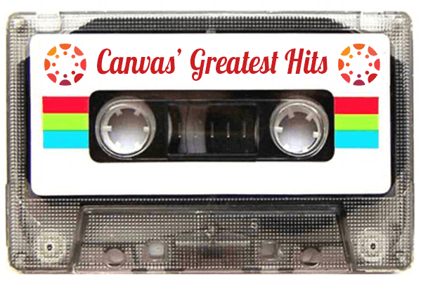 cassette tape - canvas' greatest hits