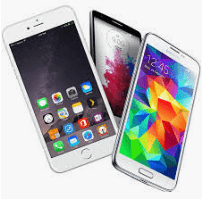 mobile phones - decorative