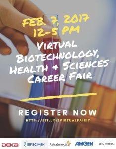 Virtual Bio fair